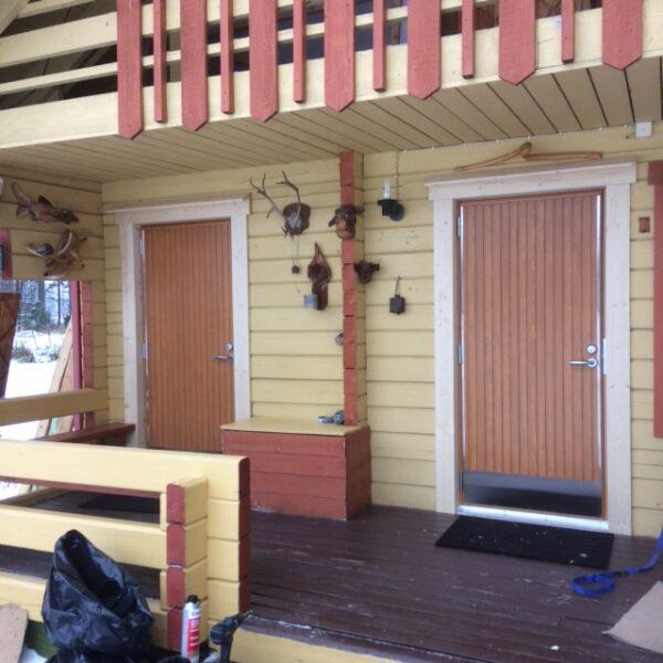 Ulko-oven asennus: Kaski Sonka -ovet